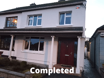 Warmer Homes Scheme Co. Leitrim - completed